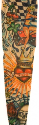 Vintage tattoo sleeves pictures
